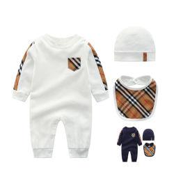 Осенью хлопок детский одежды новорожденному малышу Rompers мальчиков Rompers