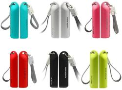 열쇠 고리 이동할 수 있는 힘 휴대용 충전기 창조적인 2600mAh를 전송하게 쉬운 소형 힘 은행 Keychain 디자인