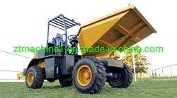Transferencia de diseño personalizado camión hidráulico 1.5ton Mini sitio Dumper maquinaria de construcción giratorio 4X4 para la venta