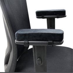 인체공학적 메모리 폼 오피스 의자 팔걸이 패드 편안한 게임용 의자 팔걸이 쿠션