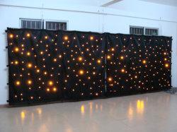 Rigeba Venta caliente coloridas telas de alta calidad LED Cortina de luz de estrella para la parte eventos mostrar
