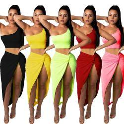 Lo Short di alta qualità dell'indumento di Topshow imposta i vestiti da sera a due pezzi delle donne