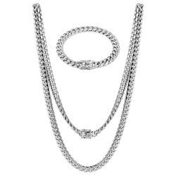 Form-Halsketten-Armband-Silber-Schmucksachen stellten für Frauen ein