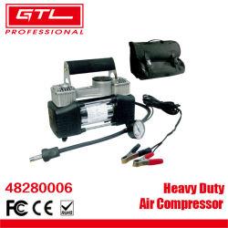 Tragbarer digitaler Autoreifen-Inflator mit Anzeige 120psi Auto-Abschaltautomatik, Hochleistungs-Doppelzylinder 12V Pumpe Luftkompressor mit LED-Licht für Auto/LKW (48280006)
