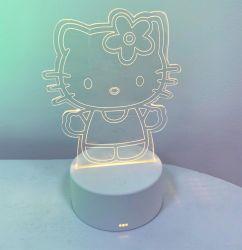 Basamento chiaro acrilico di pubblicità di cristallo illuminato imperniato sul mercato della Tabella della visualizzazione del LED per il ristorante