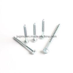 Brida hexagonal de la Masonería el tornillo de rosca de cemento de las uñas Hi-lo Ruspert o revestimiento de zinc Tapcon Tornillo de concreto