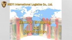 Batterie DG DDU DDP Cargo