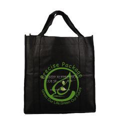 قابل للاستعمال تكرارا يطبع غير يحاك ترقية حقيبة مع عيينة مقبض