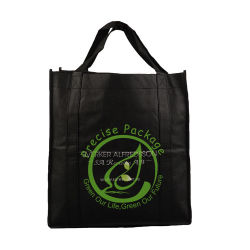 Impresos de promoción de reutilizables no tejido Bolsa con asa de ojal