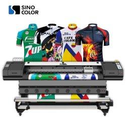 1,8 m 2 voet Chinese fabriek 42 m2/H 2400 dpi Dye Subliamtion Inkjet Photo Quality printer for Silk Fabric Bag Cap Gift Signage