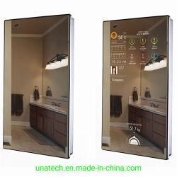 De muur zet Video HD op Adverterend de Magische LCD van de Vertoning Signage van de Monitor Digitale Spiegel van de Speler