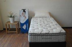 فراش من الفوم الذاكرة - فراش Latex بفراش Pocket Spring أثاث غرفة النوم Eb15-9- حجم كوين ملفوفة في صندوق