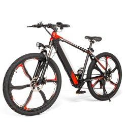 Telaio in acciaio per bici elettriche da montagna con misuratore a LED