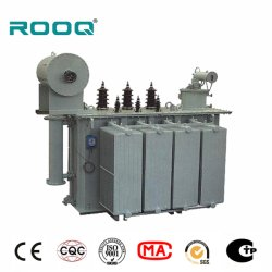1,050kVA 20kV 3상 오일 유입 실외 전력 분배기 변압기 라디에이터