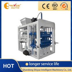Qt4-12 새롭게 설계한 유압식 홀로우 블록 높은 수준의 기계 제작 생산성
