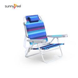 La posición 5 de Aluminio silla plegable Silla de playa con una mochila Silla de playa