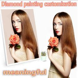 Customerized Foto 5D IMAGEM BRICOLAGE de Rhinestones Diamond Bordados 3D em casa com decoração de casamento