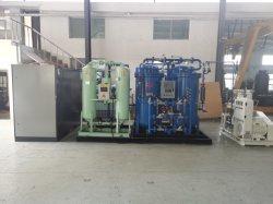 Sistema di generazione di ossigeno mobile a bordo macchina per la produzione di ossigeno con raffreddamento ad acqua disattivato Azionamento a motore