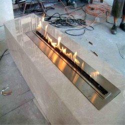 72-дюймовый внутри дома украшают интеллектуальный электрический камин горелки Bio этанол