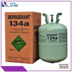 99,9% de pureza de congelador de Arrefecimento Rápido Carro Ar Condicionado gás Freon R22 e refrigerantes R134A