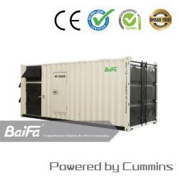 Generador Industrial de 800kVA Cummins con 20gp contenedor insonorizadas Canopy Fabricante de grupo electrógeno