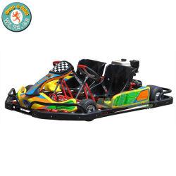 성인 2 사람 2players 젖은 클러치 안전 풍부한 가솔린 페달을 2 시트 Kart 200-D 경주하는 위락 공원은 Kart 간다