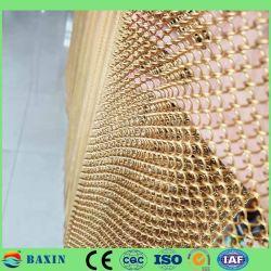Melhor Preço do Elo da Corrente decorativas Mesh/cortina cortina metálica decorativa