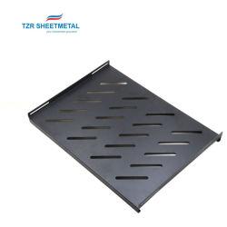 Soem-kundenspezifische Herstellungs-Stahlleitblech-Ladeplatte des Standardnetzserve-Schrankes