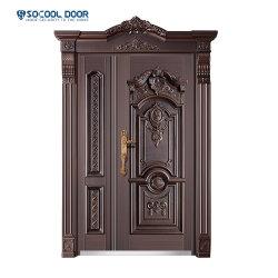 Luxury personalizada Porta de aço exterior fora do padrão