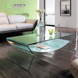 Высокое качество гостиной ли стекло уникальный фантазии кофейный столик