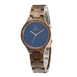 Form 2020 aller natürliche hölzerne Brücke-heiße Taktgeber und Uhr-Frauen-hölzerne Armbanduhr