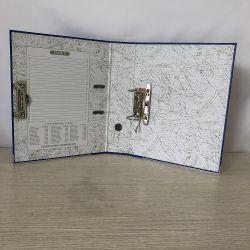"""3""""FC PVC/Arquivo do arco da alavanca de papel com o Furador"""