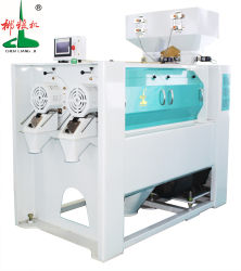 Top Selling High Efficient Double Roller Parboiled Rice Polisher machine Water Polisher Rice Silky Polisher Mist Whitener