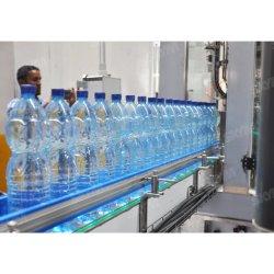 Wasser-Saft-Getränkegetränk-flüssiger füllender Verpackungsmaschine-Produktionszweig des kleinen Haustier-2000bph Plastikglasder flaschen-automatischer 3 in-1 Monoblock reiner