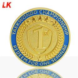 На заводе рельефным Custom дешевые 3D American Eagle логотип золотой медали задачи