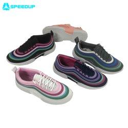 Painted Athletic Sneaker Fancy 숙녀 유행 여자 스포츠 단화