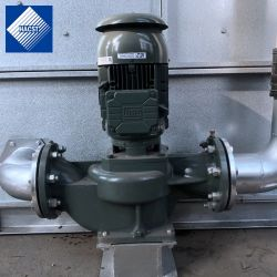 Vertical pompe de circulation de l'eau tour de refroidissement
