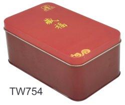 Boîte de thé personnalisé de gros, de thé à bas prix de l'étain métal prix d'usine peut, emballage de thé