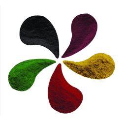 Pigmento de tinta com pigmento vermelho de óxido de ferro Fe2O3 Óxido férrico H120em pó