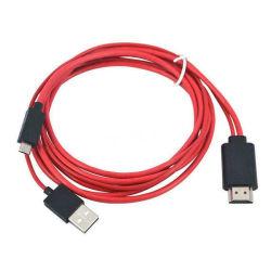 كبل توصيل ذكي لمحول USB ميكرو إلى HDMI 1080p HDTV الهاتف الخلوي والتلفزيون