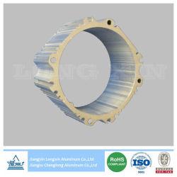 Silber anodisierter Aluminiumstrangpresßling für Kühlkörper