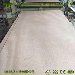 Núcleo comercial de Okume de Madera La madera contrachapada con Carb/Certificación CE