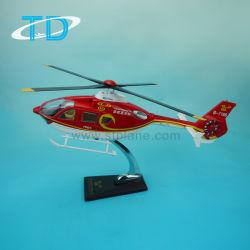 Вертолет Drone EC-135 полимера индивидуальные модели