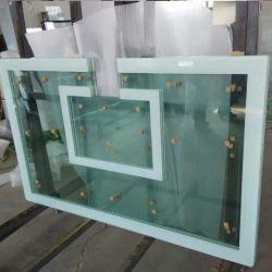 12мм ясно шелк стекла закаленного стекла коврик для печати для баскетбола