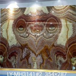 Lastra rossa abbinata libro del marmo di Onyx del drago