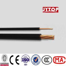 H07V-U Введите ПВХ изоляцией ПВХ пламенно электрического кабеля