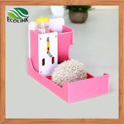 ペットハウスにはフードボウルウォーターボトルとトアイトがあります 小型動物用 Hedgehog Guinea pigs