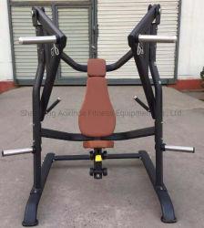 De grote Apparatuur van de Gymnastiek/van de Geschiktheid van de Waarde zette het Vrije Gewicht van de Pers van de Borst van de Daling/Plaat Geladen Machine (axd-M1009)