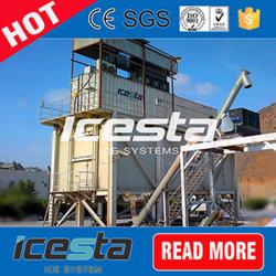 [إيسستا] رقاقة جليد يتأهّب خرسانة مختلطة