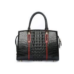 Handtassen van de Dames van het Leer van de Beurs van de Vrouwen van het Leer van de Huid Cocrodile van de Handtas van de Ontwerper van de douane de Echte